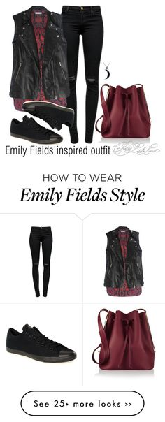 """Emily Fields inspired outfit/PLL"" by tvdsarahmichele on Polyvore"