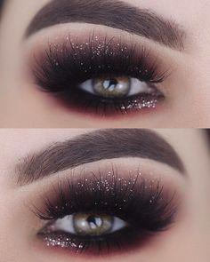 Trendy eye makeup tutorial silver make up 31 Ideas Makeup Looks Winter, Makeup Eye Looks, Make Makeup, Makeup For Teens, Simple Makeup, 80s Makeup, Witch Makeup, Dead Makeup, Scary Makeup