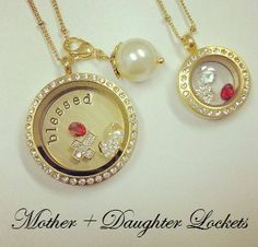 Mother & Daughter Lockets