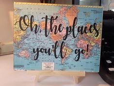 Oh, the places where you go to graduation decor adventure party adventure baby shower travel and adventure nursery decor Seuss quote - web . Graduation Open Houses, Preschool Graduation, Graduation Decorations, Graduation Party Decor, Grad Parties, Vintage Graduation Party Ideas, High School Graduation Gifts, Graduation Quotes, Travel Theme Nursery