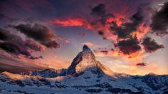 悪魔や亡霊の宿る山マッターホルンに行ってみた「絶景写真」   世界一周人