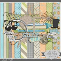 Silly You mini kit freebie from Victoria Feemster Designs