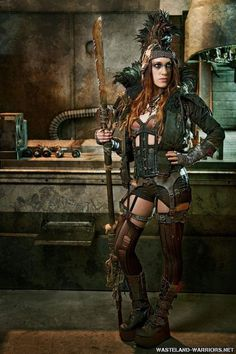 Behold The Most Badass Post Apocalyptic Cosplayers. | moviepilot.com