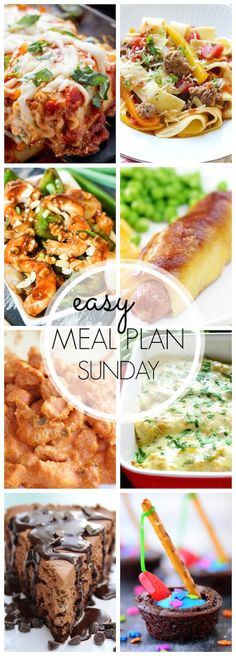 Easy Meal Plan #41 - The Chicken Tikka Masala and Naan Bread in this dinner plan are to die for!