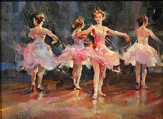The Performance by Michael Maczuga Oil ~ 12 x 9