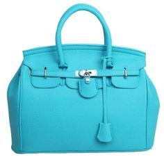 Simple Larger Capacity Leather Handbag