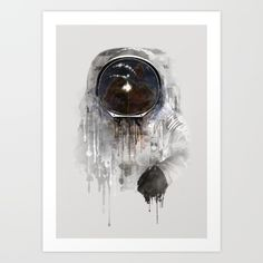 Buy Astronaut Art Print by Dániel Taylor. Worldwide shipping available at Society6.com. Just one of millions of high quality products available.