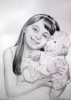Pencil portrait author Kamila Guzal-Pośrednik