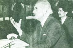 Afghanistan Prime Minister, Nur Mohammed Taraki - soft-spoken.