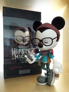 Hipster Mickey Vinylmation | Jerrod Maruyama Illustration