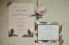 Wedding Invitation & Response Card