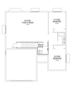 1000 images about floor plans on pinterest rambler for Rambler house plans with basement