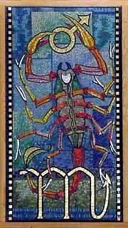 Scorpio mosaic