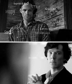 What Sherlock deduces about Sam. The similarities between these two make me want to cry.