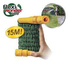 Bekend van TV: Flexi Wonder Pro - Flexible Tuinslang 15m #tuinslang #flexiwonderpro #flexiwonder #flexibeletuinslang #bekendvantv Flexibility, Van, Bergen, Products, Back Walkover, Vans, Gadget, Mountains, Vans Outfit