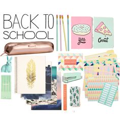 back to school supplies h & m and urban outfiters
