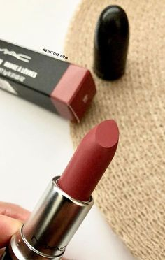 66 Best MAC Lipsticks For Every Skin Tone - Hair and Beauty eye makeup Ideas To Try - Nail Art Design Ideas Mac Twig Lipstick, Mac Lipstick Shades, Mac Lipstick Colors, Best Mac Lipstick, Perfect Lipstick, New Mac, Nail Art Designs, Eye Makeup, Hair Beauty