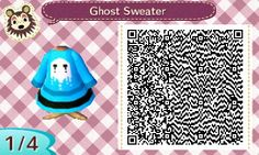 Ghost Sweater | QRCrossing.com