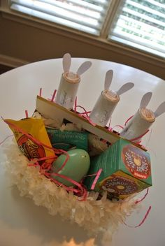 Made this easter basket for my boyfriend so easy and a huge hit suitable gift for husband cool image negle Images
