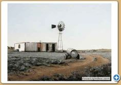Code:- 3585   Title:- Windmill and Cottage   Size:- 600mmx400mm  Price:-R28000.00