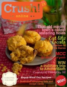 Crush Magazine! An online interactive magazine to help you learn virtually anything you want about wine!!
