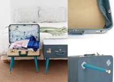 15 manières de transformer une vieille valise pour votre déco