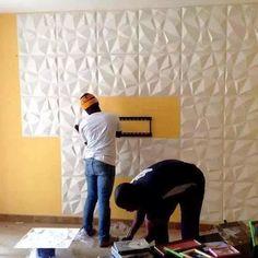 Revestimento 3d (board) Placas Em Fibra De Bambu