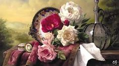 Oil painting by pieter wagemans 3d Painting, Oil Painting Flowers, Oil Paintings, Arte Floral, Flower Images, Flower Art, Rose Vase, Gifts For An Artist, Still Life Photography