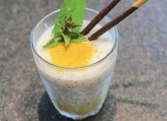 Mango & kokos & Chai Seeds? Tropische smaken vanuit verre paradijzen … een dessert van 1001 zaden met een gezonde twist. Lees snel verder!