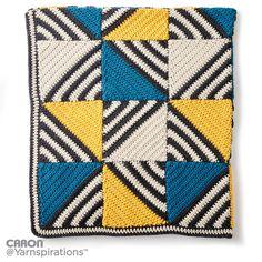 Crochet Tilt-A-Whirl Afghan