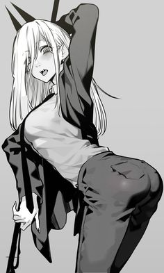 Anime Girl Hot, Manga Anime Girl, Kawaii Anime Girl, Manga Art, Sucubus Anime, Dark Anime, Anime Comics, Cute Anime Character, Character Art