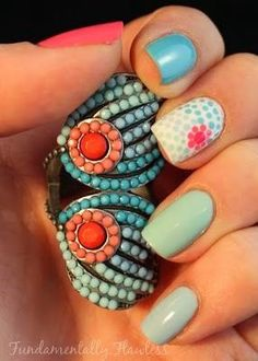 new pretty nail ideas for 2015