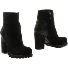 Sam Edelman Ankle Boots ($161) ❤ liked on Polyvore featuring shoes, boots, ankle booties, black, ankle boots, black boots, leather bootie, black booties and short black boots