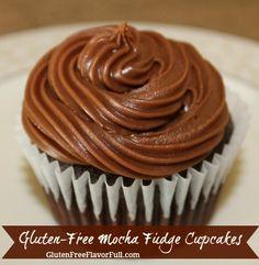 Gluten-Free Mocha Fudge Cake