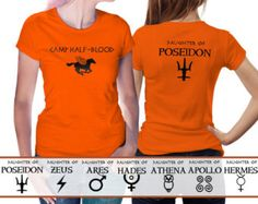 Camp Half Blood t shirt Percy Jackson and the by BestTeeShirts