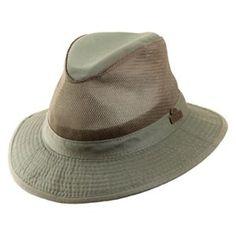 2309d2cc903 RedHead Garment Washed Twill Safari Hat for Men - Olive - XL Safari Hat