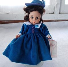 """Madame Alexander Bonnie Blue Doll + Stand Scarlett Series 7"""" #MadameAlexander #Dolls"""