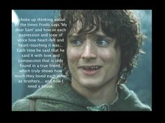 From Concerning Hobbits Facebook page celebrating one of the greatest and purest love stories.