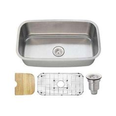 superior sinks 18 in x 30 in satin brush stainless steel single rh pinterest co uk