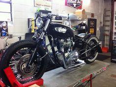 Hartz Bros Custom Cycle Complete Triumph Bobbers - The Jockey Journal Board