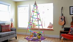 A fun place for Easter goodies! Easter Holiday Tree | The Jubiltree Company, LLC  | Modern Wood Christmas Trees