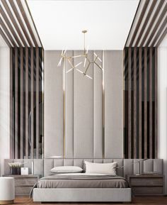 32 Fabulous Modern Minimalist Bedroom You Have To See - Everywhere you look you find things are being updated. The best way to start modernizing in your life is to have a modern bedroom. Modern Bedroom, Interior Design, Bedroom Hotel, Ceiling Design Bedroom, Room Design, Luxurious Bedrooms, Luxury Bedroom Master, Modern Luxury Bedroom, Modern Minimalist Bedroom