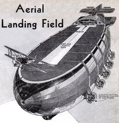 Airship Aircraft carrier concept