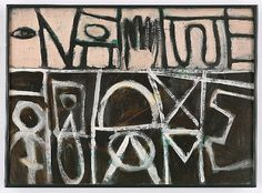 "Style ""Abstract Expressionism"" - Adolph Gottlieb, Division - 1948"
