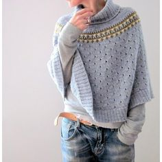 Indigo Frost Knitting pattern by Isabell Kraemer