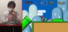 Notícias sobre Tecnologia atual!!!: Japonês controla Super Mario World tocando flauta ...
