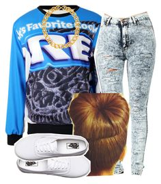 """""""."""" by trillest-queen ❤ liked on Polyvore featuring Vans"""