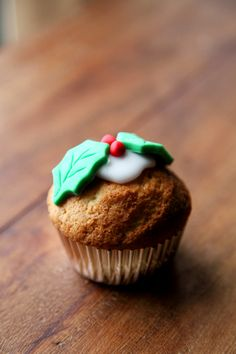 These cool Christmas cupcakes knock the socks of Christmas pudding any day! This recipe also works super for normal cupcakes too!