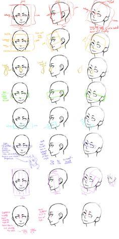 the_head_guide_study_by_jotaku-d3a0bpz.jpg 900×1,800 pixels