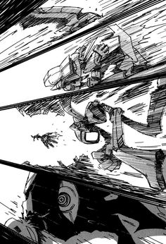 Manga FLCL Capítulo 3 Página 10